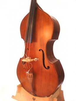 3/4 Lloyd Walnut Bass, September '11 - Front