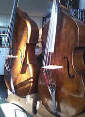 Finished Basses