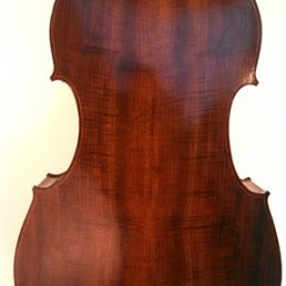 3/4 Walnut Orchestra Model, March '15 - back