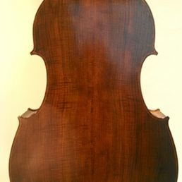 3/4 Walnut Flatback Solo Model, March '15 - back