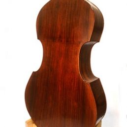 3/4 Lloyd Walnut Bass, September '11 - Back