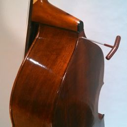 3/4 Walnut Flatback Solo Model, March '15 - ribs